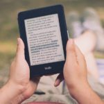 Kindleを持って読書